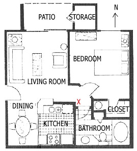 Apartment 113 Floorplan