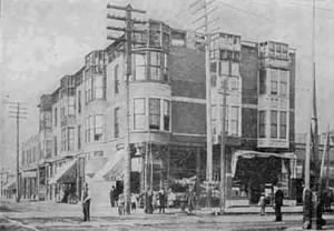 Photo of H. H. Holmes' Murder Castle