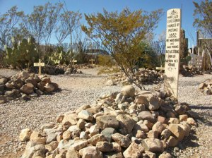 Boothill-- George Johnson's Grave