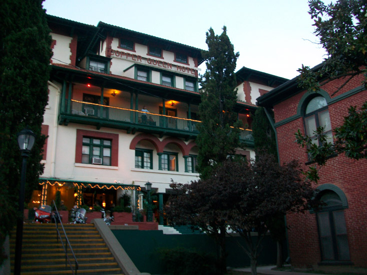 Copper Queen Hotel Ghost Tours