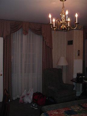 Hawthorne Hotel Library Room