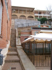 Staircase Beside Bisbee Inn/Hotel LaMore