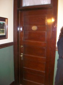 Door to Room 23 at the Bisbee Inn/Hotel LaMore