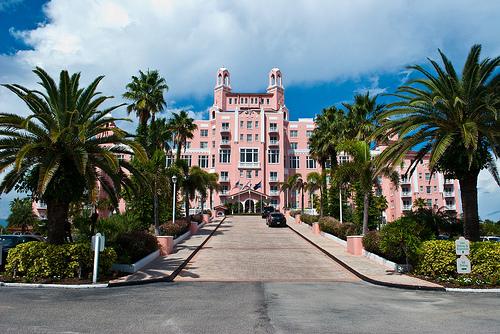 Don Cesar Beach Resort And Spa In St Petersburg Florida