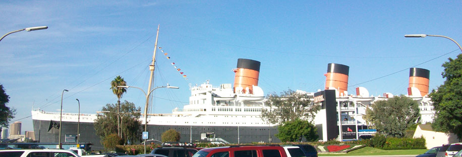 Queen Mary Ship Long Beach Parking