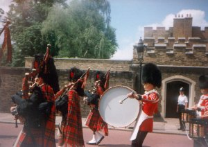 St. James Palace Bagpipes and Drums