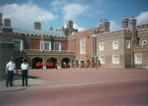 St. James Palace - Changing Guard1