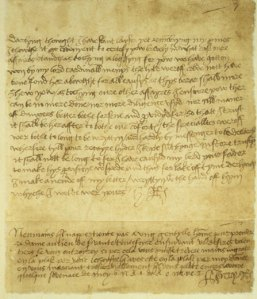 Henry VIII of England, Letter to Anne Boleyn (Pre-marriage)