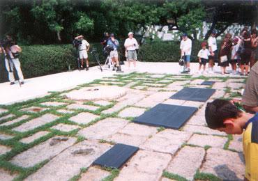JFK Eternal Flame at Arlington National Cemetery 1999-07-19