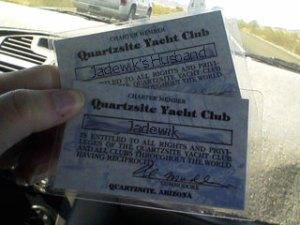 QYC Membership Cards