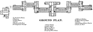 General Kirkbride Building Layout (Circa 1887)