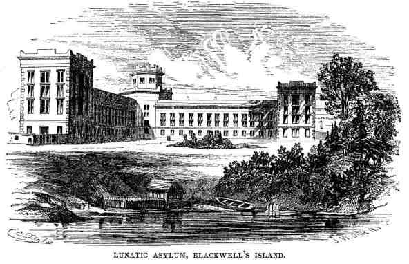 Image result for new york city lunatic asylum