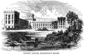 New York City Lunatic Asylum on Blackwell's Island