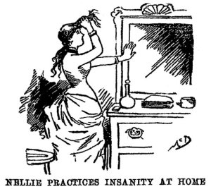 Nellie Bly Practices Insanity