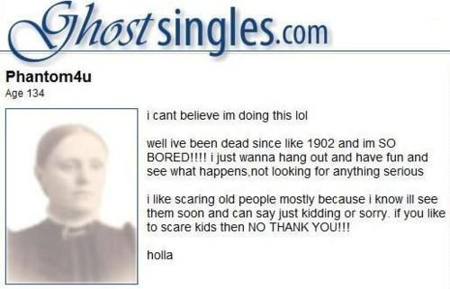 Paranormal dating site