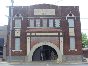 Old Palace Theatre, Benton, Arkansas converted into a library for Saline County from 1967 - 2002
