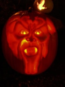 Jadewik's 2006 carving of Darkness from the movie Legend.