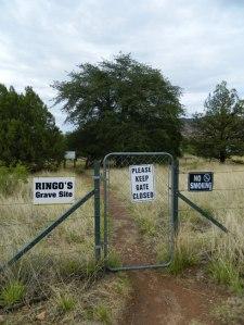 Ringo Gravesite Gate